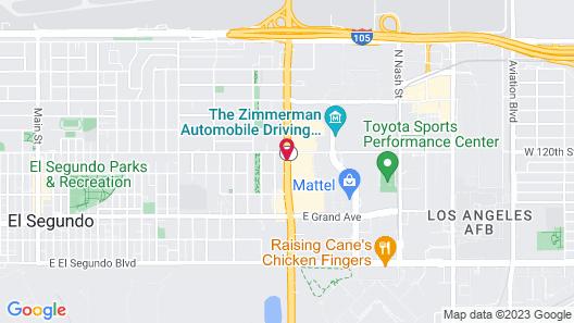Fairfield Inn & Suites Los Angeles LAX/El Segundo Map