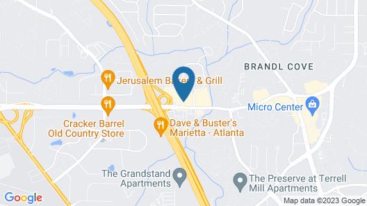Drury Inn & Suites Atlanta Marietta Map