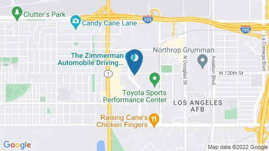 Sonesta Select Los Angeles LAX Map