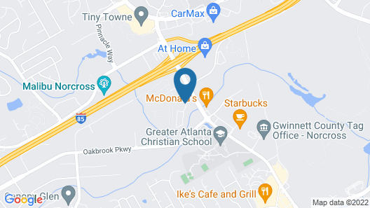 Super 8 by Wyndham Norcross/I-85 Atlanta Map