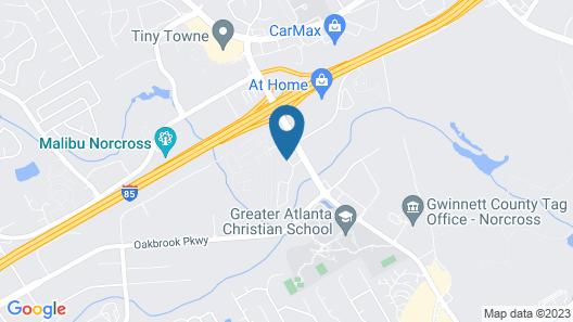 Brick Lodge Atlanta/Norcross Map