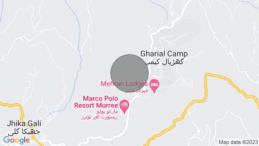 Janjua Lodges and Apartments Murree Map