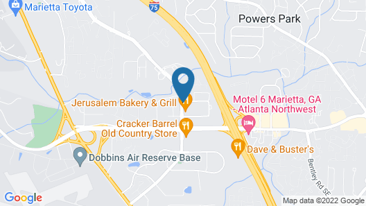 Home2 Suites by Hilton Atlanta Marietta Map