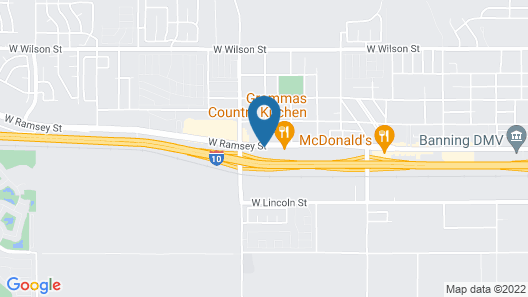 Holiday Inn Express Hotel & Suites Banning, an IHG Hotel Map
