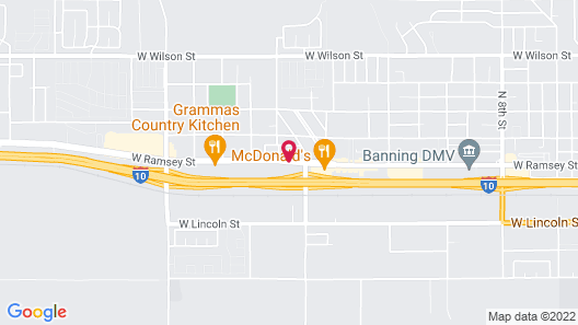Days Inn by Wyndham Banning Casino/Outlet Mall Map