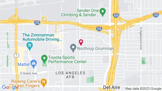 LAX Suites Map