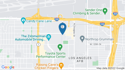 Hyatt Place LAX El Segundo Map