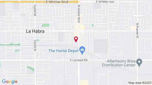 3rd Avenue Inn Map
