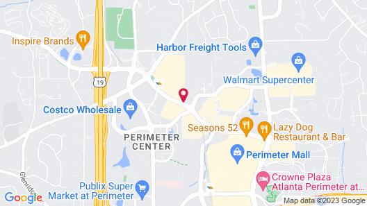 Embassy Suites by Hilton Atlanta Perimeter Center Map