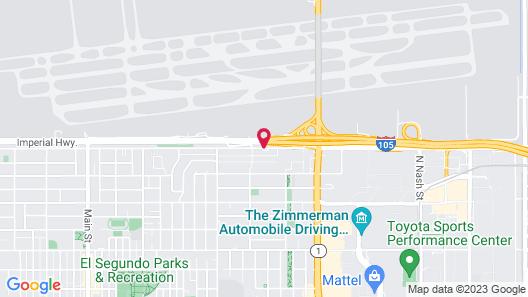Embassy Suites by Hilton Los Angeles LAX South/El Segundo Map