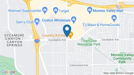 Holiday Inn Express & Suites Moreno Valley - Riverside Map