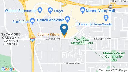 Residence Inn by Marriott Riverside Moreno Valley Map