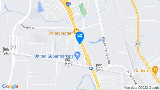 La Quinta Inn by Wyndham Wichita Falls Event Center North Map