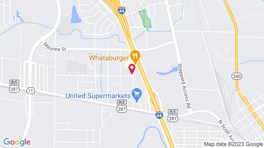 Super 8 by Wyndham Wichita Falls Map