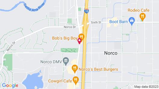 Fairfield Inn & Suites Riverside Corona/Norco Map