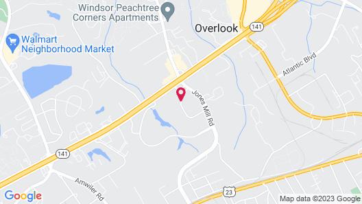 Extended Stay America - Atlanta - Norcross Map