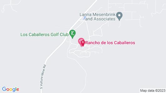 Rancho de los Caballeros Map