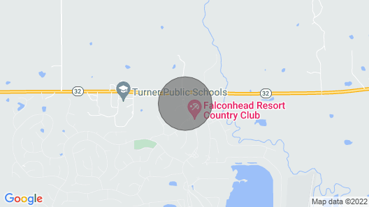 The Palmer House - Falconhead Map