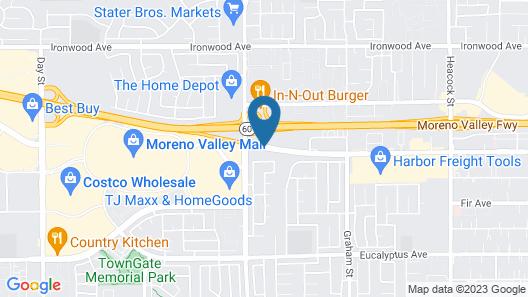 La Quinta Inn & Suites by Wyndham Moreno Valley Map