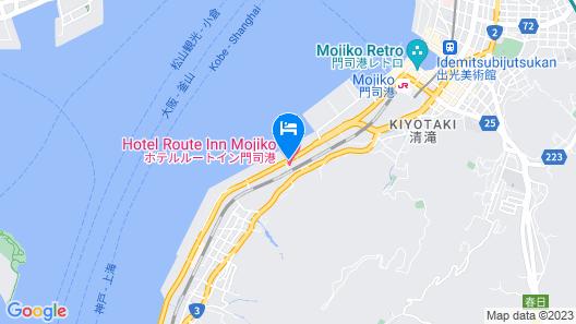 Hotel Route-Inn Mojikou Map
