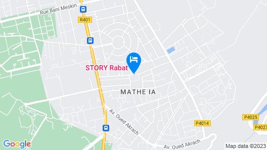 Story Rabat Map