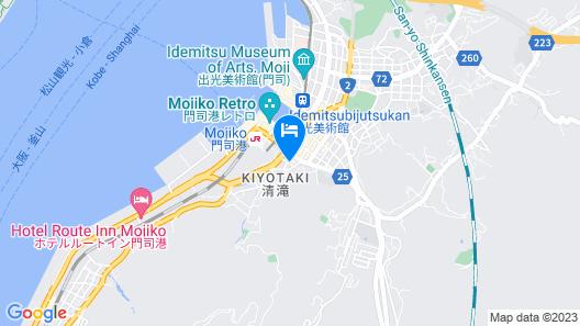 FUKUOKA MOJIKO Stay Map