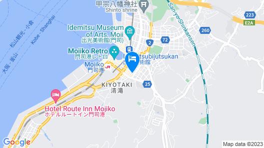 GRAND BASE Mojiko Ekimae Map