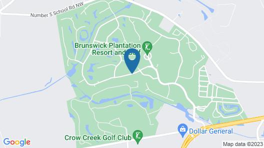 Brunswick Plantation Villas Map