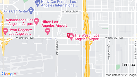The Westin Los Angeles Airport Map