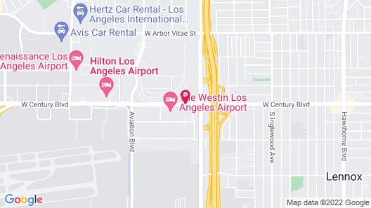 La Quinta Inn & Suites by Wyndham LAX Map