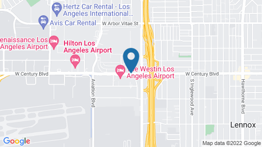 La Quinta Inn & Suites by Wyndham LAX Map