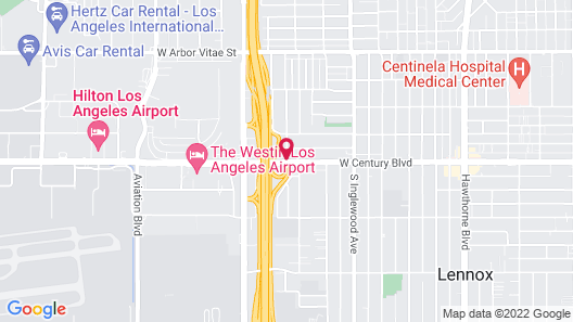 Motel 6 Los Angeles, CA - Los Angeles - LAX Map