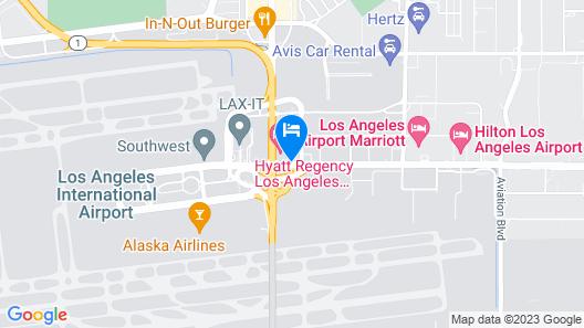 Hyatt Regency Los Angeles International Airport Map