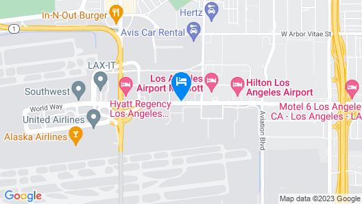 Sonesta Los Angeles Airport LAX Map