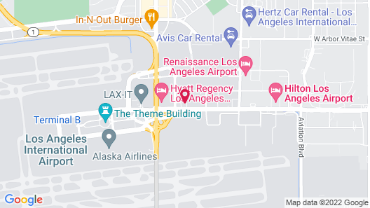 Homewood Suites by Hilton Los Angeles International Airport Map