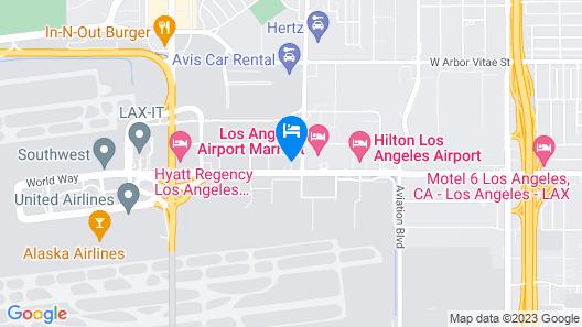 Residence Inn by Marriott Los Angeles LAX/Century Boulevard Map