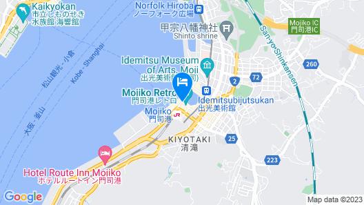 Premier Hotel Mojiko Map