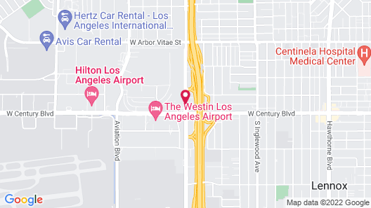 Holiday Inn Los Angeles - LAX Airport, an IHG Hotel Map