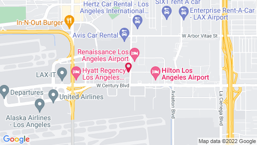 Embassy Suites by Hilton Los Angeles International Airport North Map