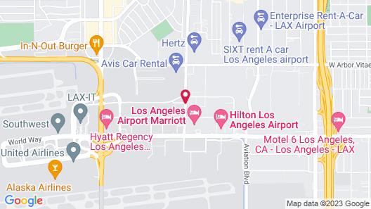Renaissance Los Angeles Airport Hotel Map