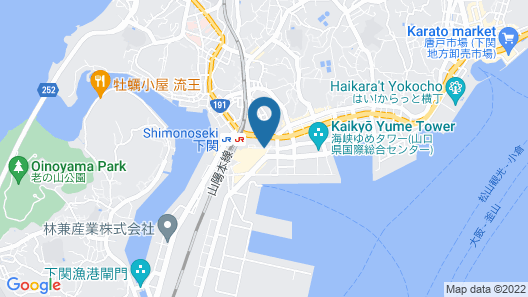 Smile Hotel Shimonoseki Map