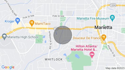 Family Home Marietta Map