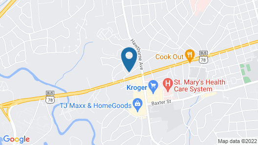 Country Inn & Suites by Radisson, Athens, GA Map