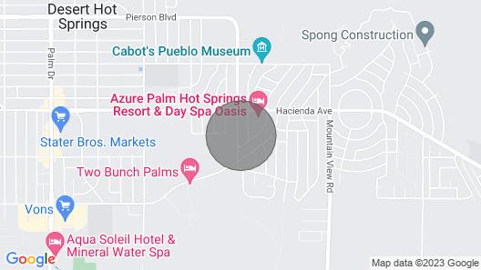Tranquil Desert Retreat . Short Walk to hot Springs & Close to Joshua Tree! Map