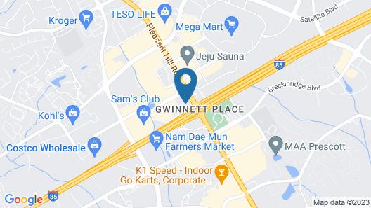 Wyndham Garden Duluth Map