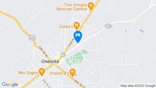 Days Inn by Wyndham Oneonta AL Map