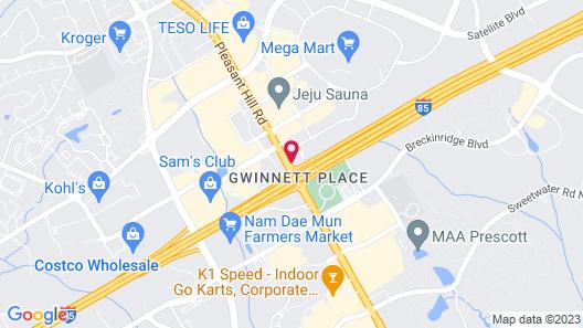Haven Inn & Suites Map