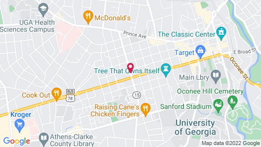 Best Western Athens Map