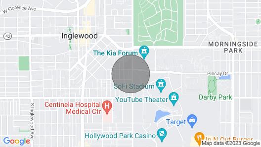 Chic Apartment Lax.forum.spacex.sofi Stadium.santa Monica California Map