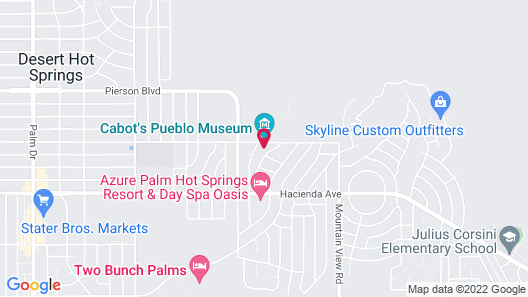 Miracle Manor Boutique Hotel & Spa Map